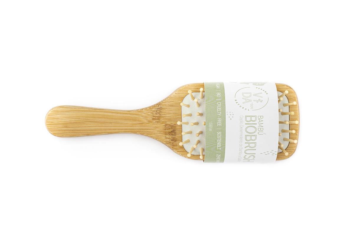 cepillo desenredarte bambú