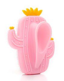 cepillo facial cactus rosa trasera