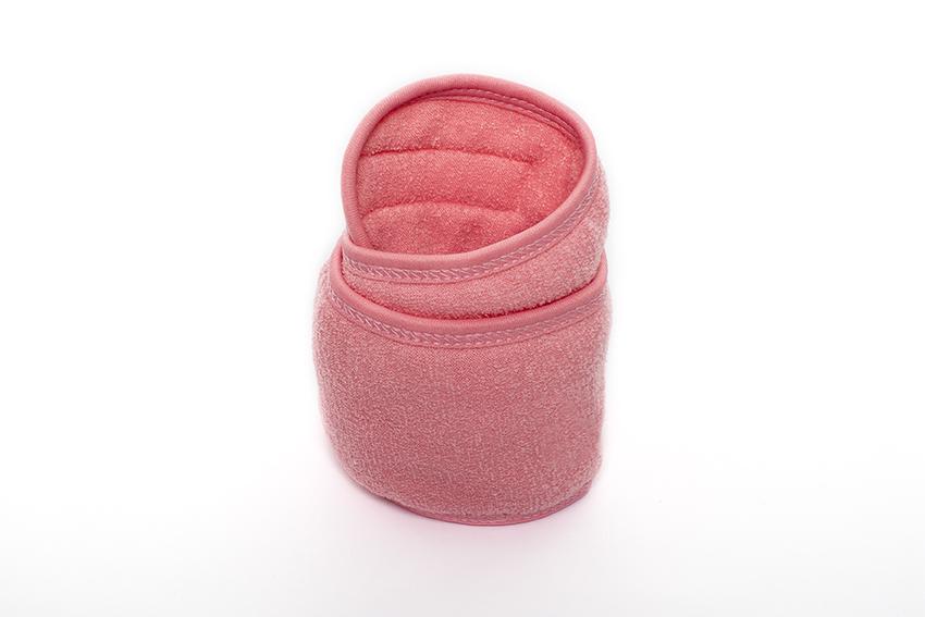 Banda de maquillaje rosa